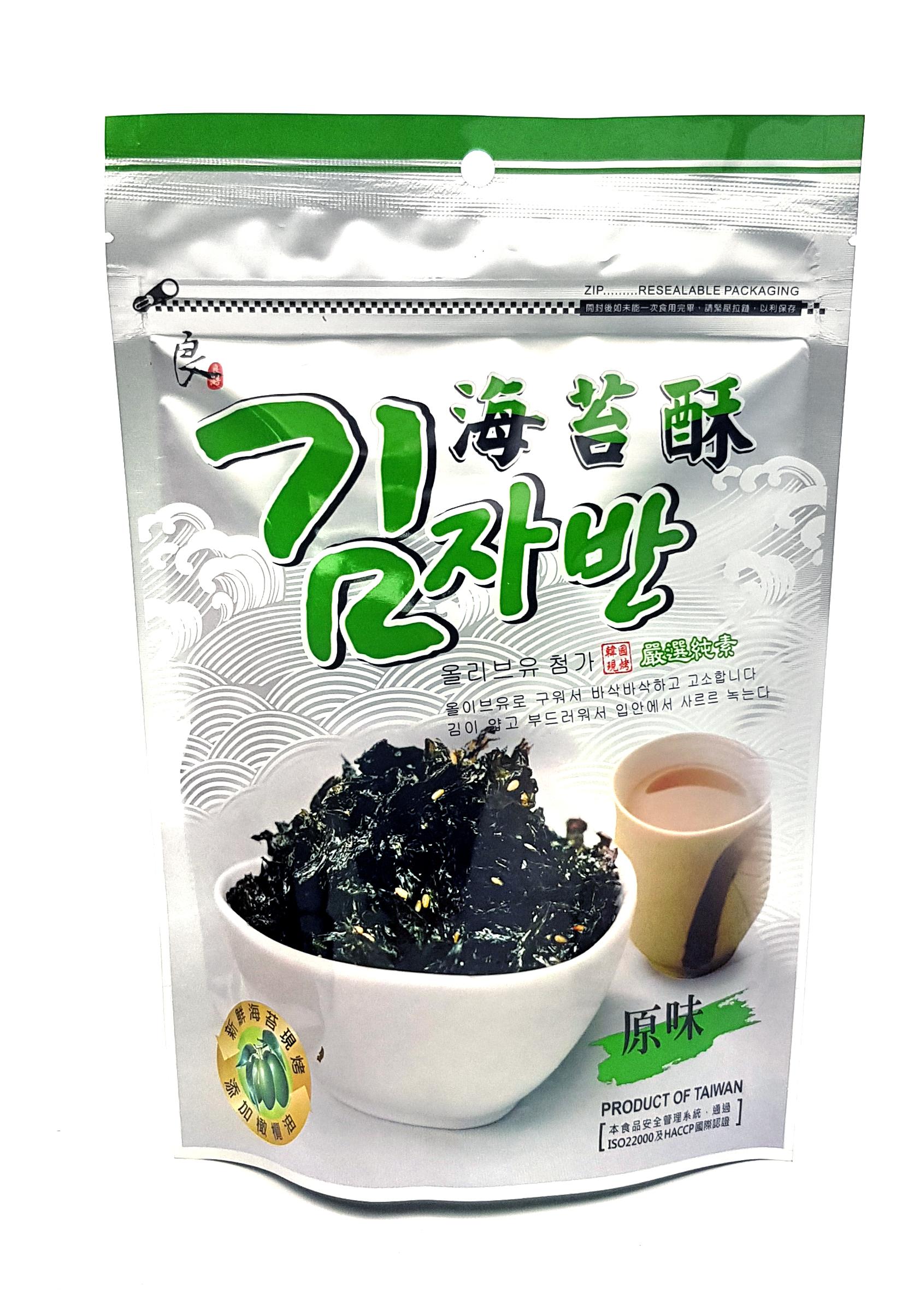《Chara 微百貨》附發票 超新期效 韓式 韓國 良澔 炒 海苔酥 炒海苔 50g 團購 批發