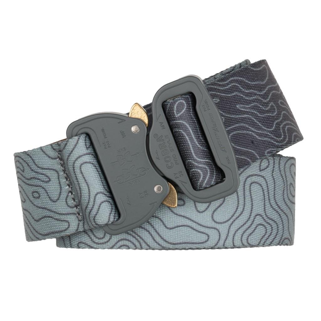 奧地利 AUSTRIALPIN COBRA 38 textile belt 尼龍腰帶 冰河色