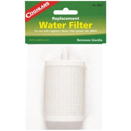 Coghlans 濾水器濾心 WATER FILTER REPLACEMENT 8802