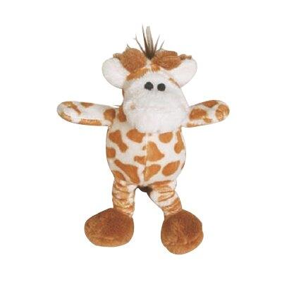 【犬玩具】美國Patchwork 絨毛迷你長頸鹿(彈力腳) 6吋