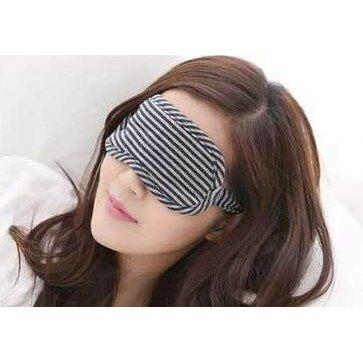 無印良品風格  午睡全棉眼罩 無印純棉針織舒適睡眠護眼罩7色 眼罩 飛機眼罩