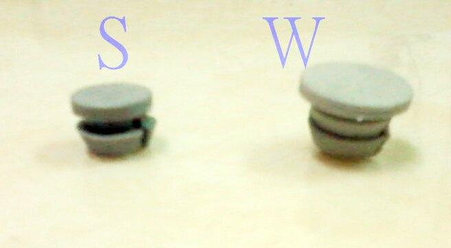 HB005 2.5分孔塞 上圓約10 mm 平頭孔塞 門孔塞 窗孔塞 防塵塞 孔塞頭 防塵蓋 修飾門窗鑽孔洞 防塵套