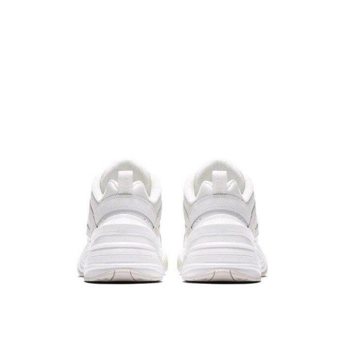 【日本海外代購】Nike Monarch M2K Tekno 老爹鞋 皮革 奶茶灰 厚底增高 女 AO3108006
