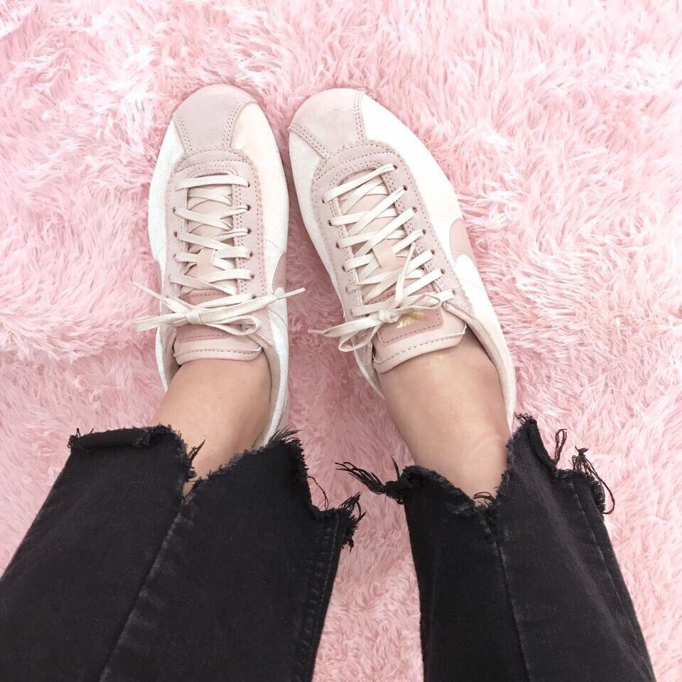 Kumo shoes NIKE CORTEZ 阿甘 法蘭絨 粉 阿甘鞋902856-202