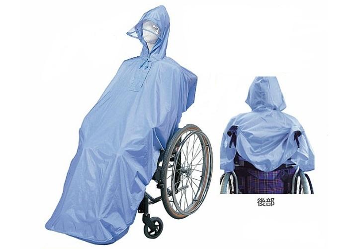 輪椅型專用雨衣 *日本製*『康森銀髮生活館』無障礙輔具專賣店