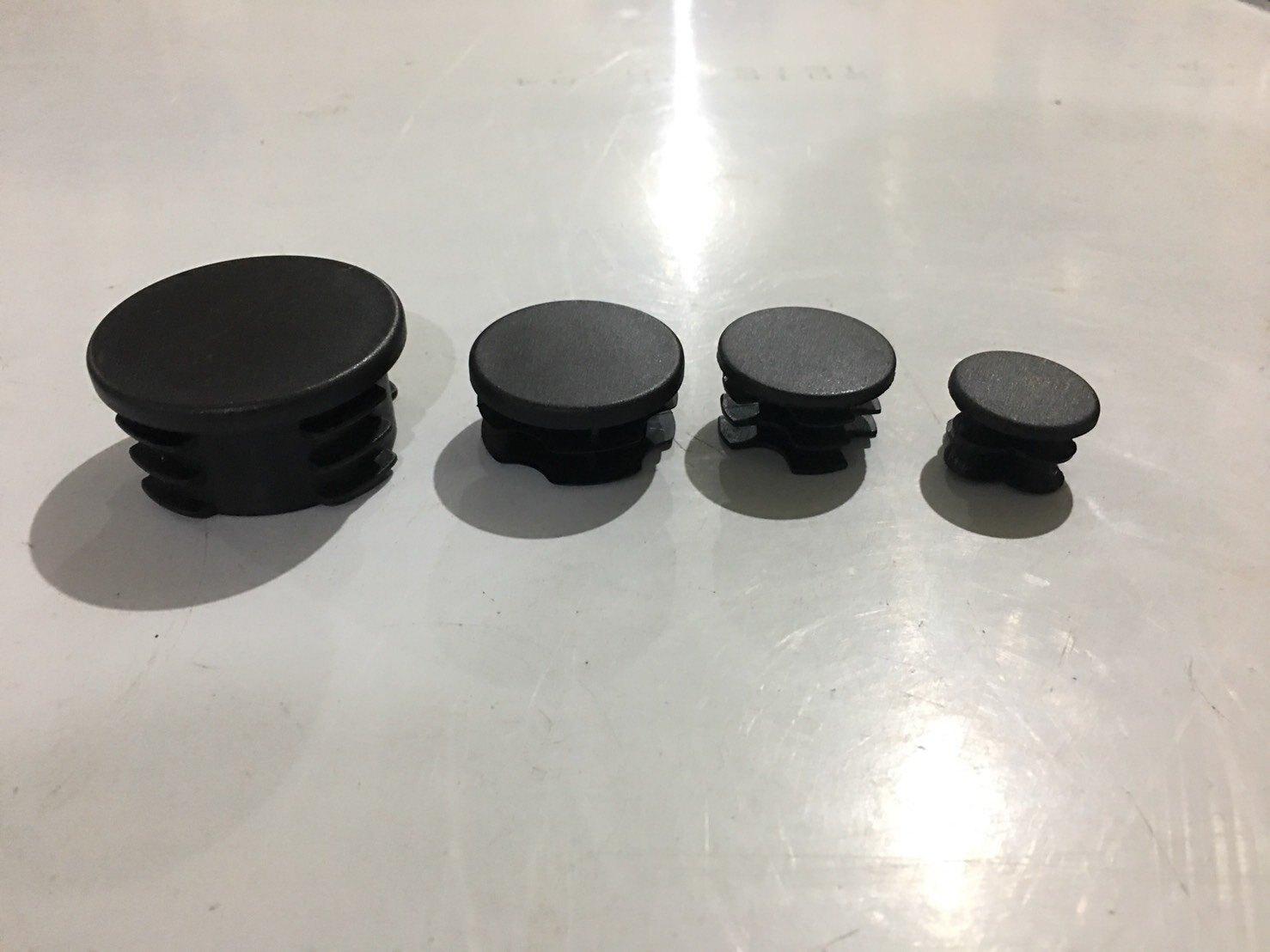 """塑膠封口 1 1/2"""" 圓黑 直徑38.1mm 封口蓋 孔塞 管塞 塑膠蓋 圓管蓋 PVC圓封口"""