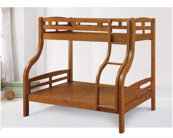 【YUDA】全實木 子母床 單人 雙人 雙層 床架/床底/床檯 K9F 171-3