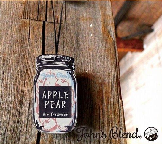 日本 John's Blend 居家芳香吊掛香氛片 White Musk(白麝香)*夏日微風*