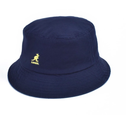 KANGOL Washed Bucket 春夏新款 坎戈爾袋鼠漁夫帽 遮陽帽