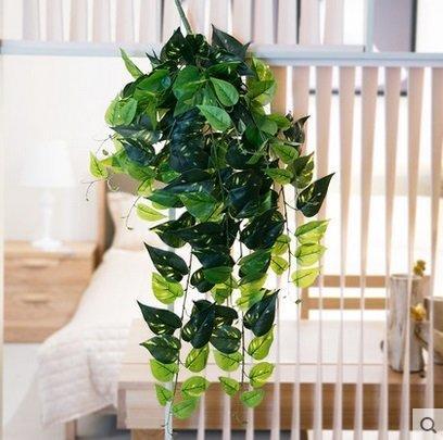 知根高仿真藤蔓植物綠藤綠蘿葉藤壁掛花藤藤條家居裝飾花藤