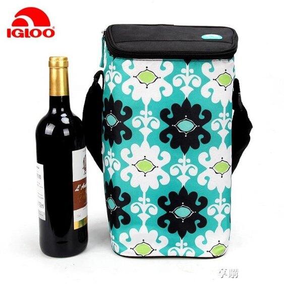 紅酒保溫袋手提便攜葡萄酒冰包保冰袋加厚保鮮冷藏袋  聖誕節禮物