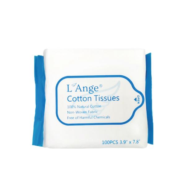 L'Ange 棉之境 純棉護理柔巾(100抽)