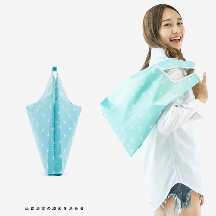 【防水牛津布】環保購物袋 圓點繽紛多色 防潑水好清洗 購物袋 環保手提袋 環保袋-多款【AAA5813】
