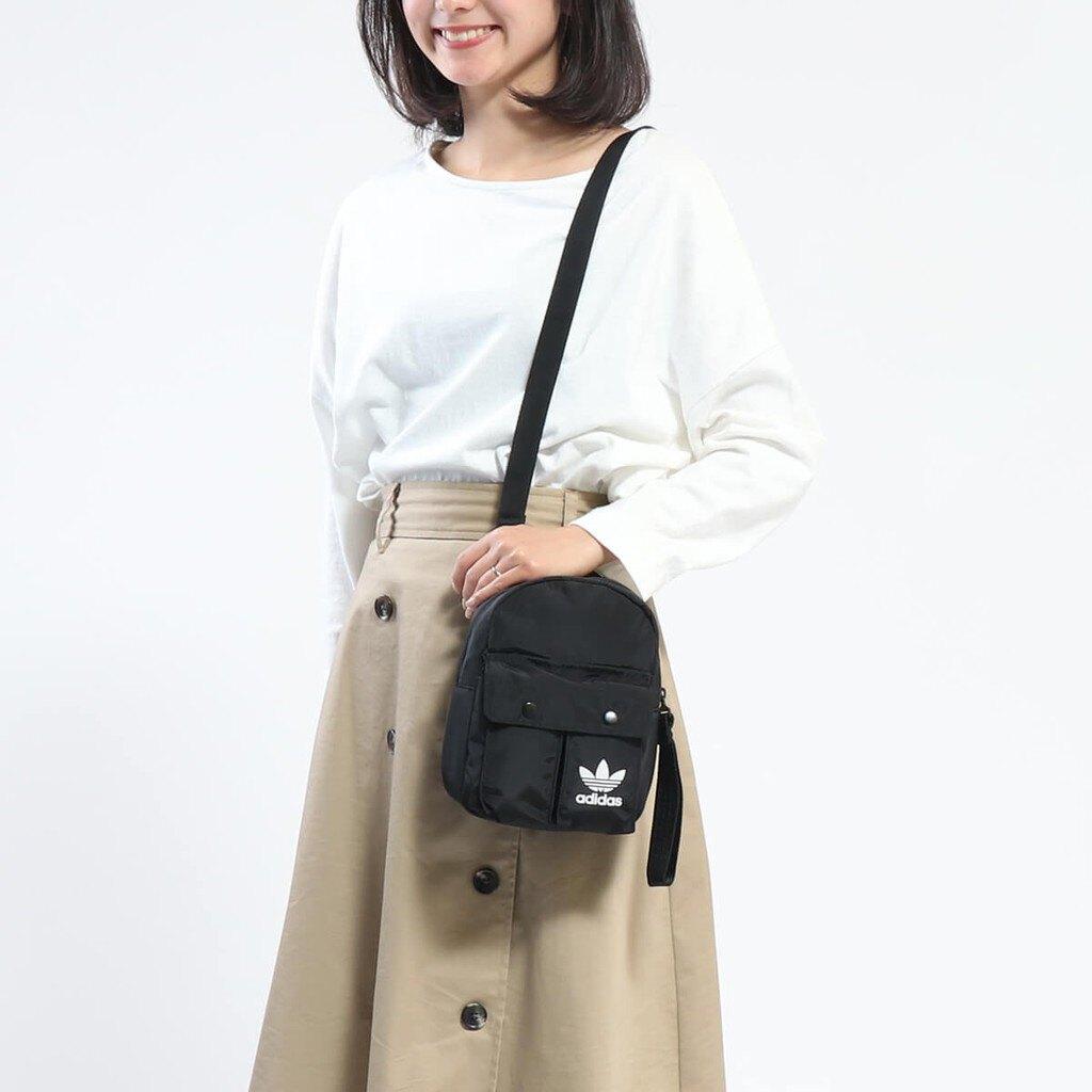 KUMO SHOES-Adidas Originals 黑色 多功能 mini 迷你包 後背包 防波水布 小包 DV0209