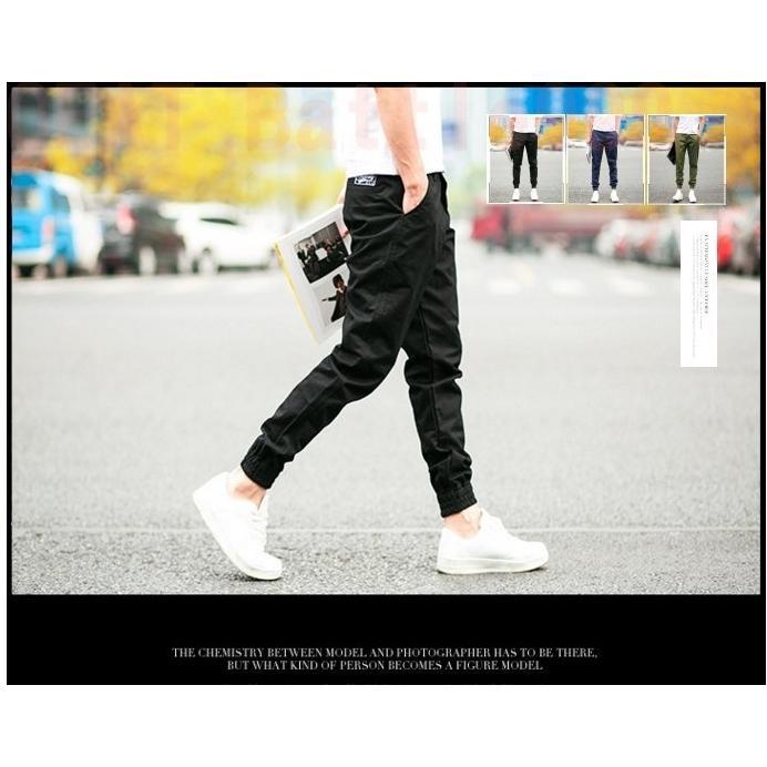 現貨 Jogger pants 韓版修身束口褲 縮口褲 絕佳版型 牛仔褲 三色 長褲【M01】