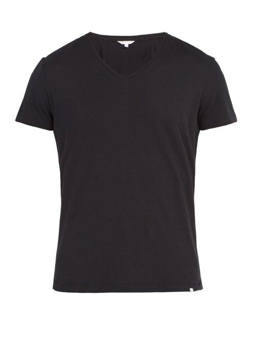 Orlebar Brown - Ob-v Cotton-jersey T-shirt - Mens - Black