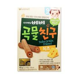 【淘氣寶寶】韓國 艾唯倪 IVENET 穀物棒棒 40g (起司乳酪)