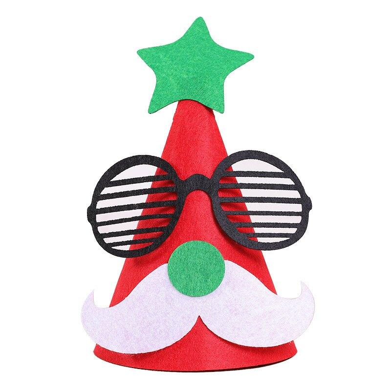 聖誕帽 聖誕節 裝飾品 DIY 帽子 兒童 裝扮用品 裝扮 派對帽 耶誕帽 耶誕節 耶誕樹 聖誕老人 耶誕老人 雪人