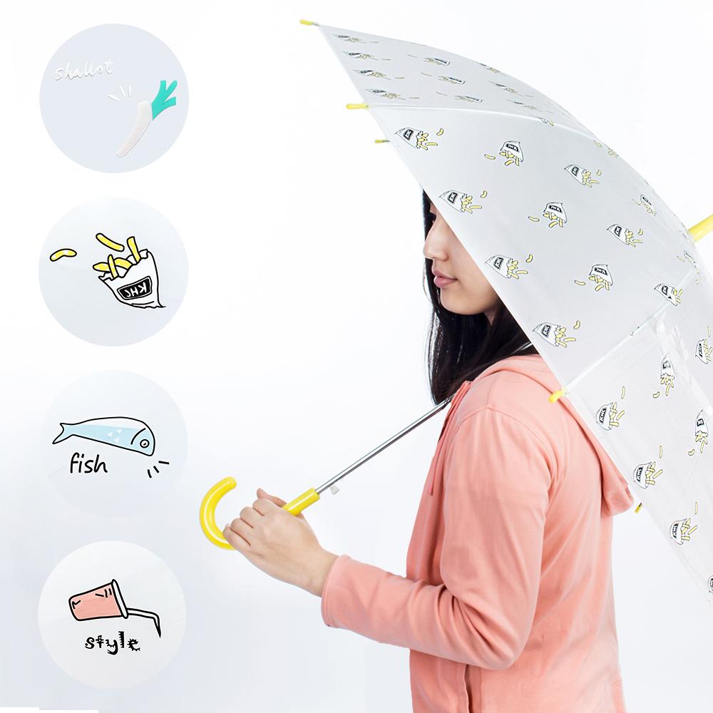 雨傘 簡生活4款 自動開傘 直傘 直立傘  霧面傘 加寶家居 【免運】【FA216】