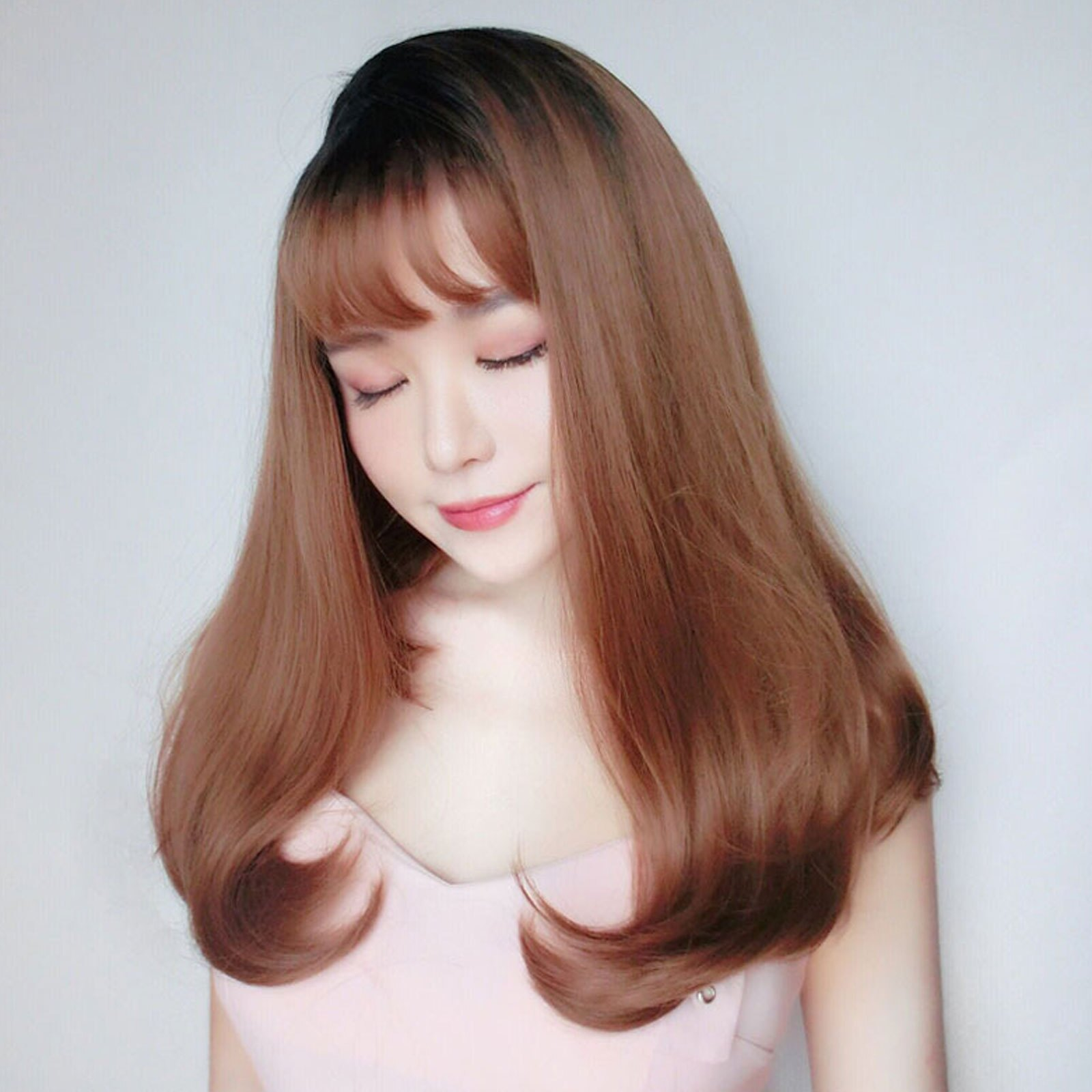 真實度破表!! 擬真韓系假髮 甜美度UP 側分 梨花頭【MX437】☆雙兒網☆