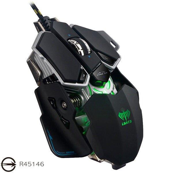 X7 變形金剛可程式 電競滑鼠 光學滑鼠 頂級遊戲芯片 十鍵自定義 按鍵壽命達1000萬次 採機械設計