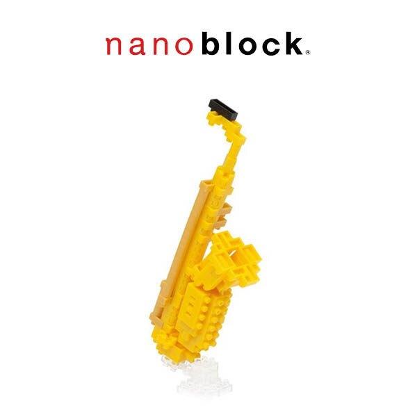 【Nanoblock 迷你積木】中音薩克斯風 NBC-106