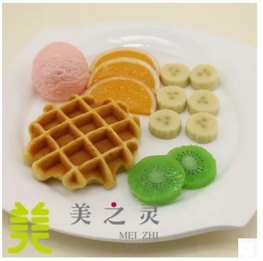 仿真水果冰淇淋松餅模型