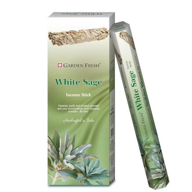[綺異館] 印度香 繽紛花園 Garden fresh 線香 買 10送 1 可加購香盒 另售印度香皂
