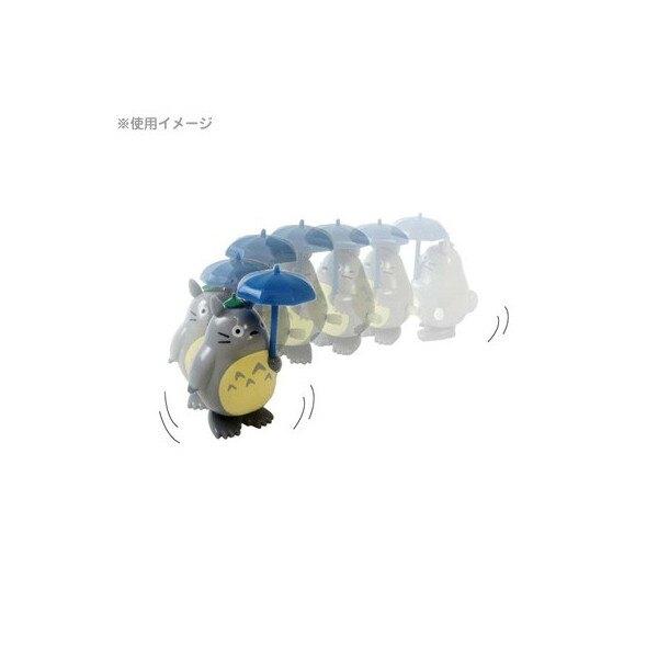 16041700001 發條走路公仔-灰龍貓撐傘 龍貓 TOTORO 豆豆龍 公仔 走路 擺飾 真愛日本