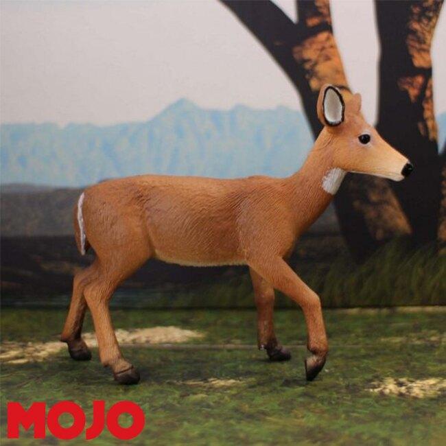 【MOJO FUN 動物模型】白尾雌鹿 387185