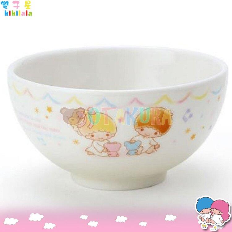 金正陶器 日本製 三麗鷗 雙子星 廚房 餐具 陶瓷碗kikilala 星星雙胞胎  日本進口正版 303790