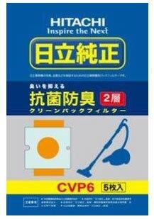HITACHI 日立 CVP6(1包5入) 集塵紙袋日立吸塵器專用集塵紙袋