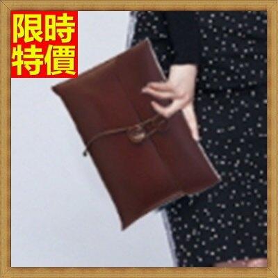 信封包 手拿包-男女通用電鍍合金公事包66e42【獨家進口】【米蘭精品】
