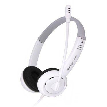 臺式筆記本電腦頭戴式耳機麥克風二合一長線兒童耳麥帶話筒網課  聖誕節禮物