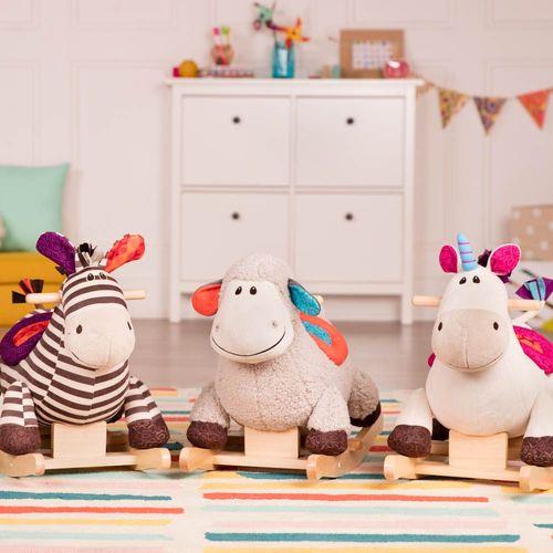 美國【B.Toys】安撫玩具系列-搖搖馬-神氣BX1660Z★衛立兒生活館★