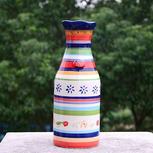 手繪陶瓷|小花瓶