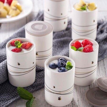 酸奶機 小熊酸奶機家用全自動陶瓷分杯小型多功能自制泡菜米酒髮酵納豆機 MKS小宅女 清涼一夏钜惠