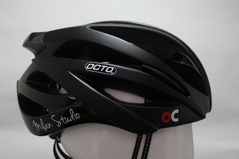 【7號公園自行車】OCTO 平價款輕量安全帽(黑)