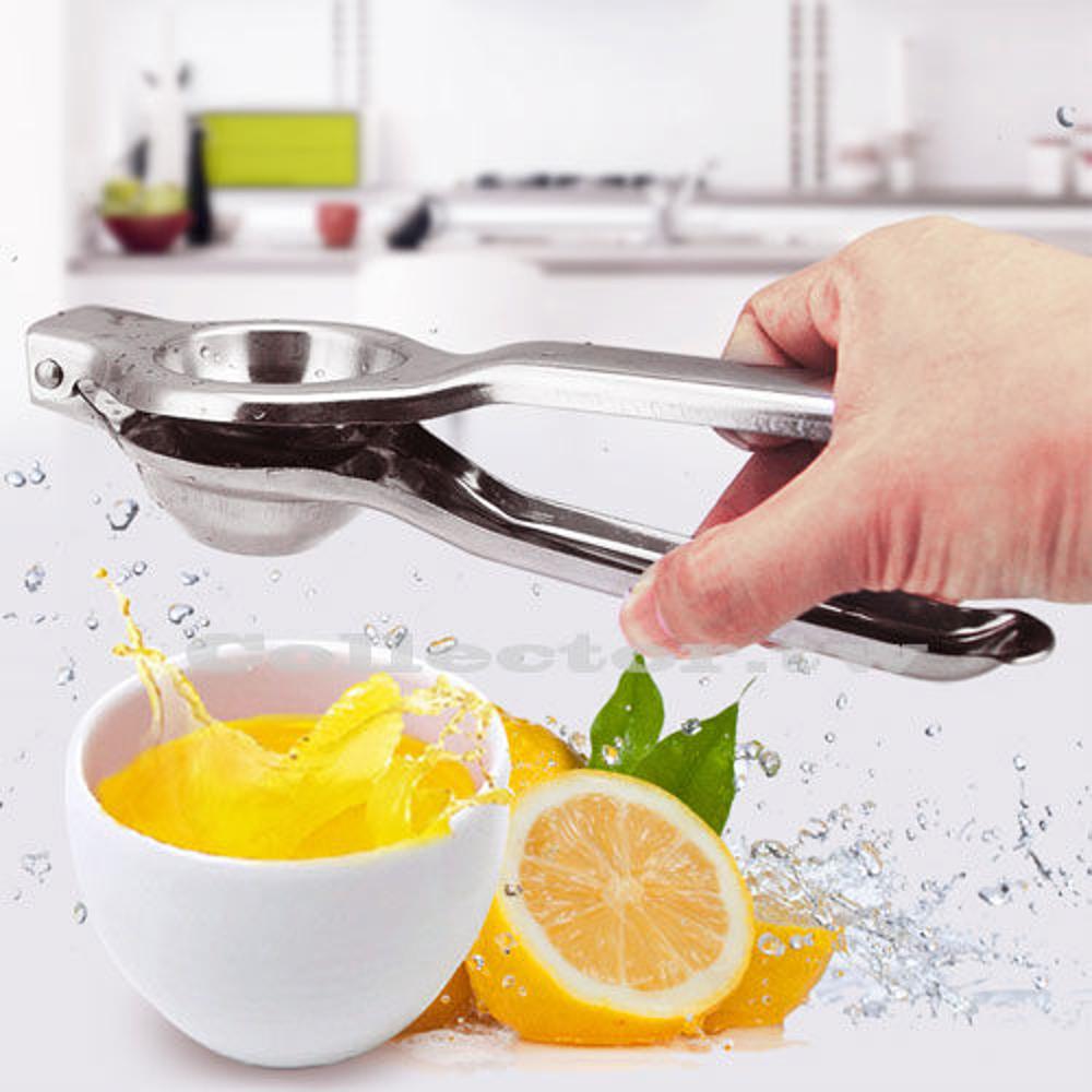 ✤宜家✤不銹鋼檸檬榨汁器 柳橙壓汁器 手動榨汁 不銹鋼果汁萃取器
