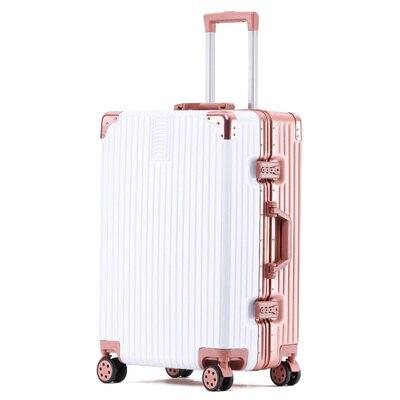 旅行箱 行李箱ins網紅女拉桿箱萬向輪旅行箱男韓版密碼皮箱子小清新 輕便 全館八八折