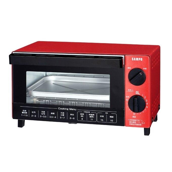 SAMPO 聲寶  10L多功能魔法烘焙烤箱 KZ-SA10