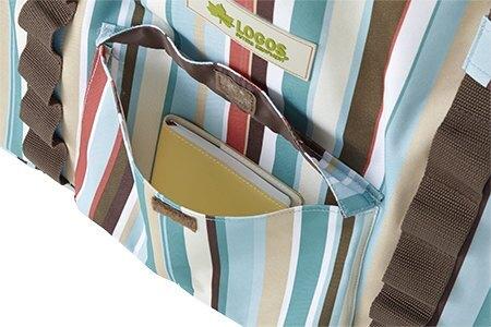 ├登山樂┤日本 LOGOS 露營收納裝備袋L-花線條 # 73189012