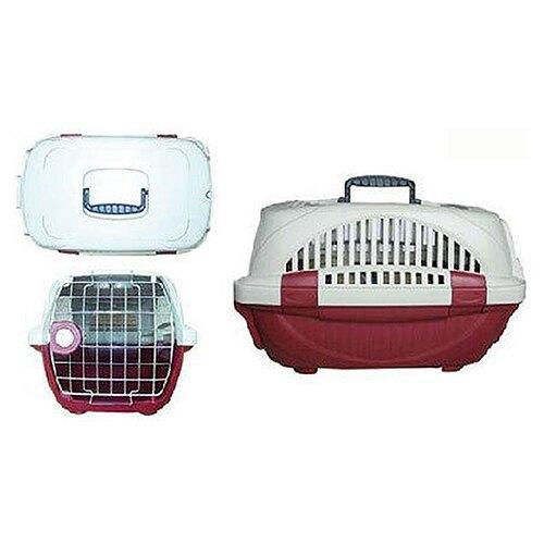 【特價550】寵物專業運輸籠 (H165-無上開) 紅色 (M563B01-2)