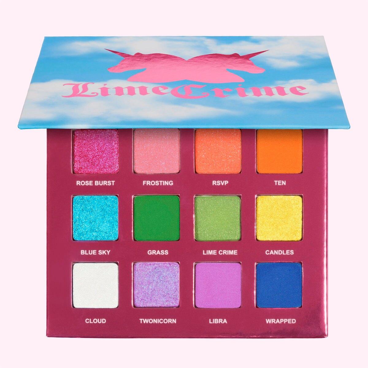 LIME CRIME十周年12色眼影盤10th Birthday eye shadow palette