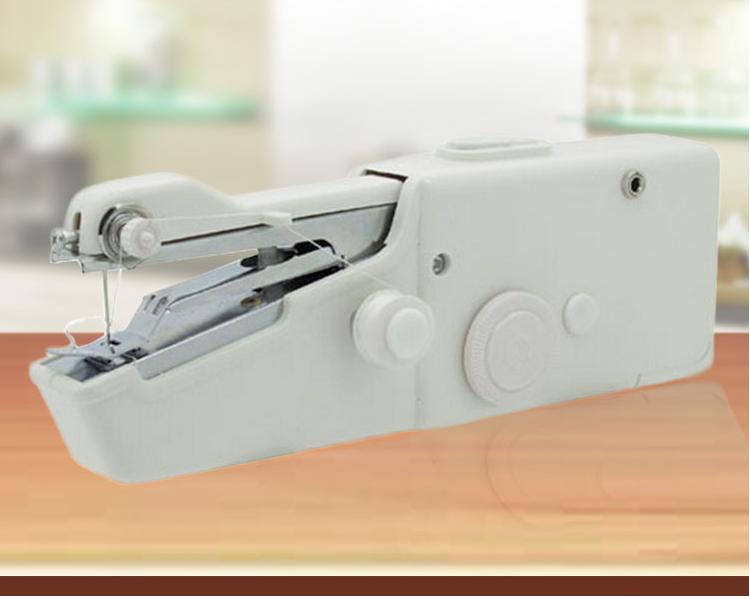 台灣現貨供應 操作簡單縫紉機迷妳手持電動迷妳帶瑣邊銹花小型縫紉機吃厚  年貨節【年終鉅惠】
