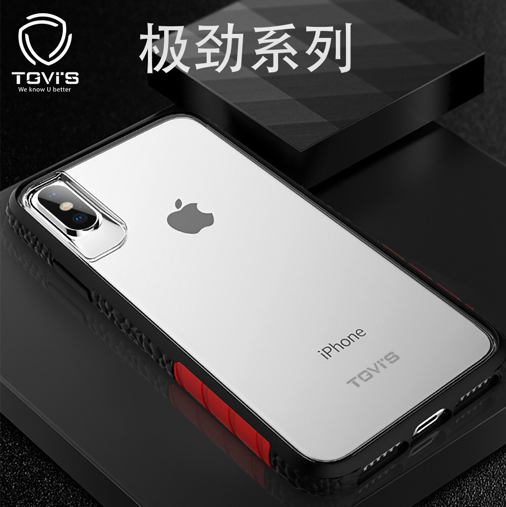 PO SHOPღ【TVGi'S】iPhone ★6/7/8 PLUS   ★X/Xs   ★XR   ★XS MAX  極勁系列運動風防摔殼
