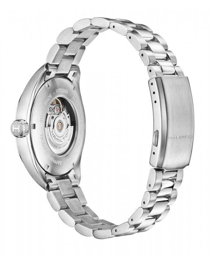 Hamilton 漢米爾頓 KHAKI FIELD 卡其陸戰DAY DATE機械腕錶 H70505133黑/42mm