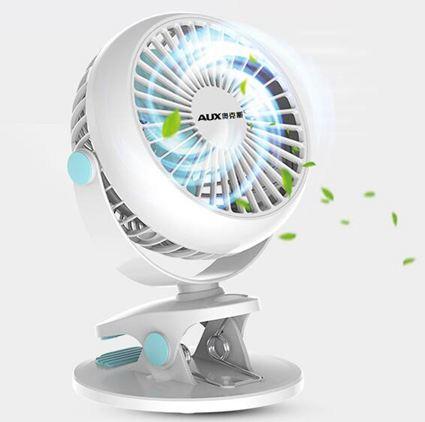 風扇USB小風扇迷你床上臺式靜音電扇可充電學生宿舍小型便攜式電風扇