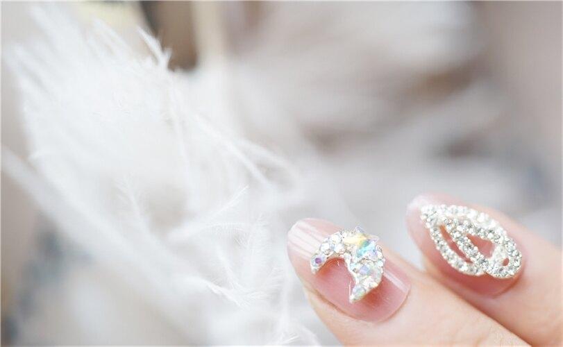現貨~ N466 果凍月亮 穿戴美甲ins風軟妹假指甲成品新娘