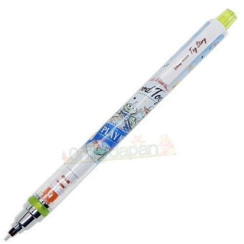 4991277632628 自旋自動鉛筆0.5-AL玩總水彩藍 玩具總動員 toys 迪士尼 自動鉛筆 文具 筆 自動筆 鉛筆 書寫用具 真愛日本